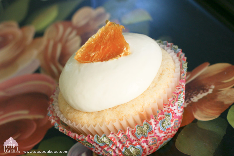 Autumn Picnic – Fig & Honey with Goat Cheese Cupcake