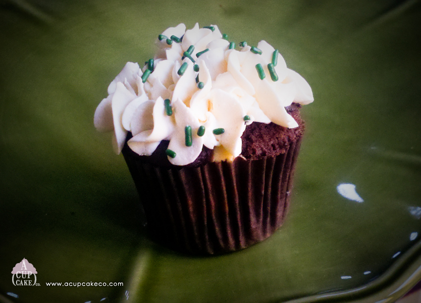 Irish Cream Chocolate Cheesecake Cupcake